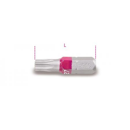 bity na šrouby s hlavou Tamper Resistant Torx®, barevné