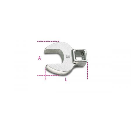 """c-klíče s čtyřhranným 3/8"""" nástrčkovým adaptérem"""