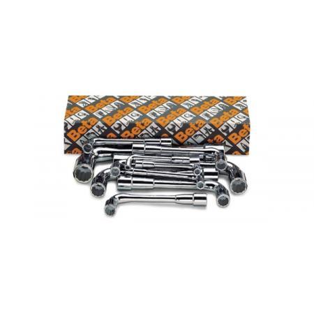 sada 11 oboustranných šestihranných / dvojitých šestihranných lomených nástrčných klíčů (položka 932)