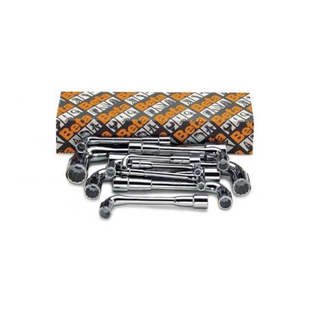 sada 17 oboustranných šestihranných / dvojitých šestihranných nástrčných klíčů (položka 937)