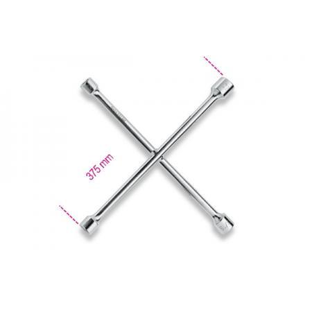čtyřcestné šestihranné klíče na matice kol