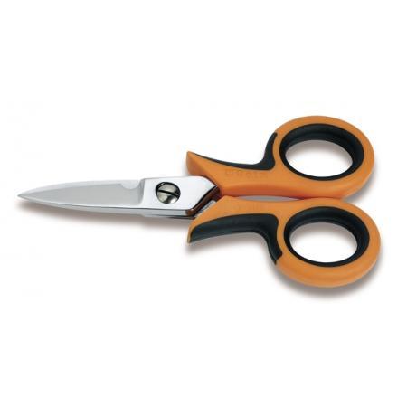 nůžky pro elektrikáře, rovné břity