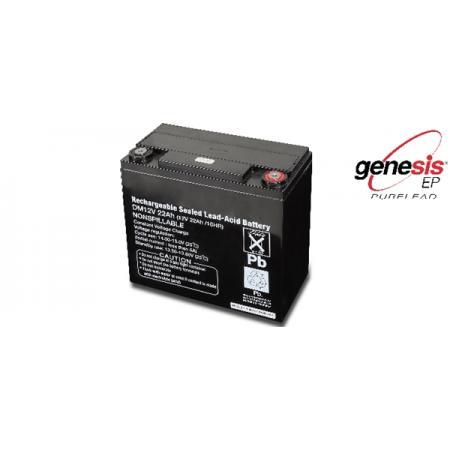 12V náhradní baterie pro startéry 1498B/12 and 1498B/24