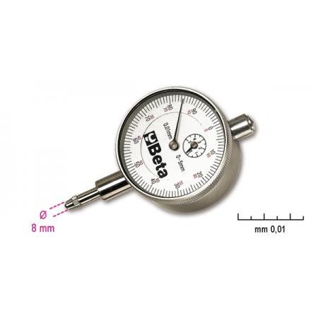 číselníkový ukazatel, přesnost 0,01 mm