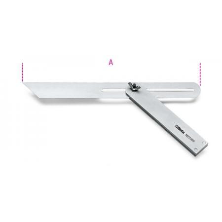 pokosník, nastavitelné pohyblivé rameno,  podstava a rameno vyrobené z oceli