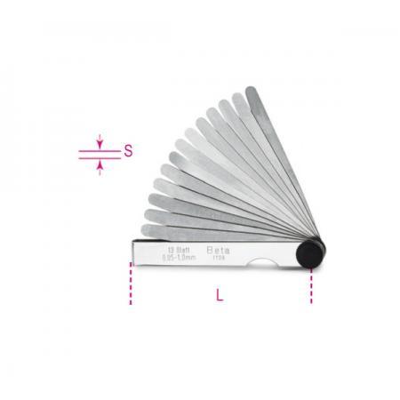 metrické lístkové měrky
