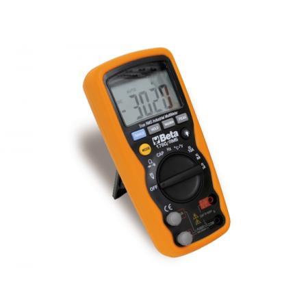 průmyslový digitální multimetr přesný a robustní, v 6mm v tvarovaném plášti, s protiskluzovou vnější pryžovou částí odolnou proti nárazům