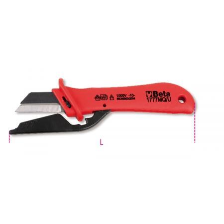 nůž na odizolování kabelů, izolovaný