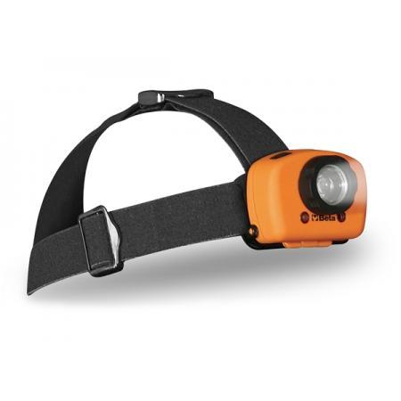 kloubová hlavová LED svítilna, dvě úrovně jasu, s čidlem