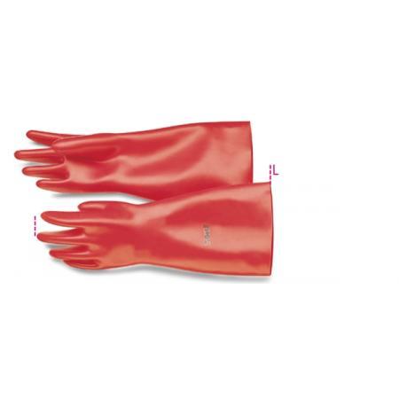 izolační rukavice, vyrobené z latexu