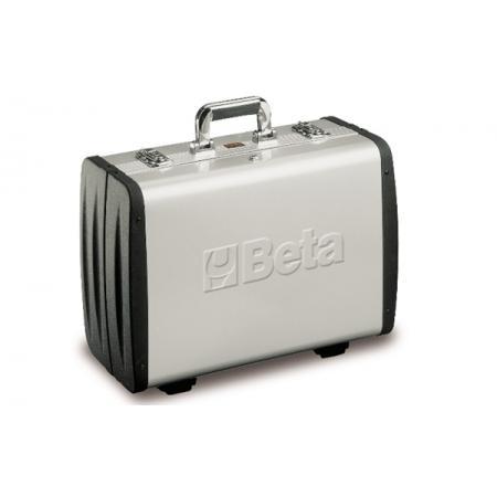 kufřík na nářadí se stěnami, vyroben z hliníku, s bočnicemi z ABS