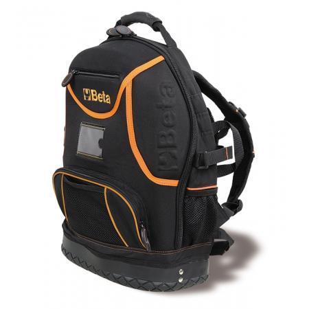 batoh na nářadí, vyrobený z technické tkaniny, prázdný