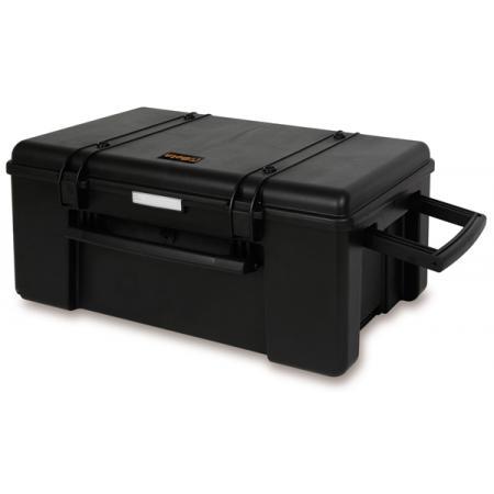 kufr na nářadí s kolečky, vyrobeno z pevného polypropylenu