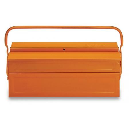 trojdílná konzolová krabice na nářadí,  vyrobeno z kovového plechu