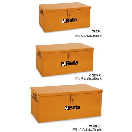 kufr na nářadí,  vyrobeno z kovového plechu