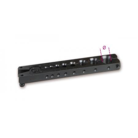 nástroj na rozhánění trubek se spojkou, na trubky z mědi a lehkých slitin v plastovém pouzdře