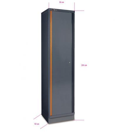 plechová jednodveřová skříň na nářadí, pro kombinaci nábytku pro autodílnu