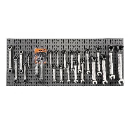souprava 77 nástrojů, s háky bez panelu