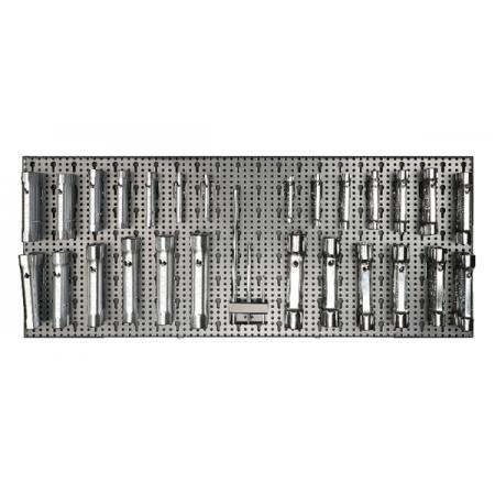 souprava 110 nástrojů  s háky bez panelu