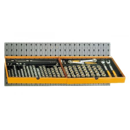 souprava 133 nástrojů,  s háky bez panelu