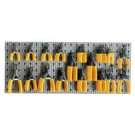 souprava 78 nástrojů,  s háky bez panelu