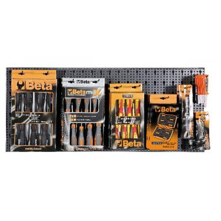 souprava 73 nástrojů  s háčky bez panelu