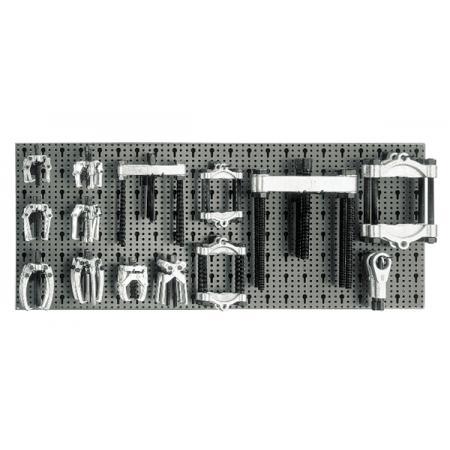 souprava 28 nástrojů,  s háky bez panelu