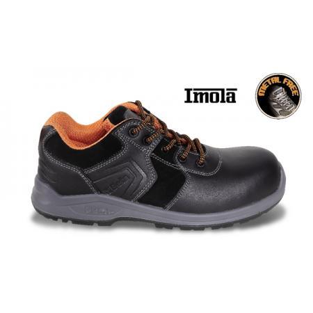 kožené boty, voděodolné, s voděodolnou semišovou vložkou