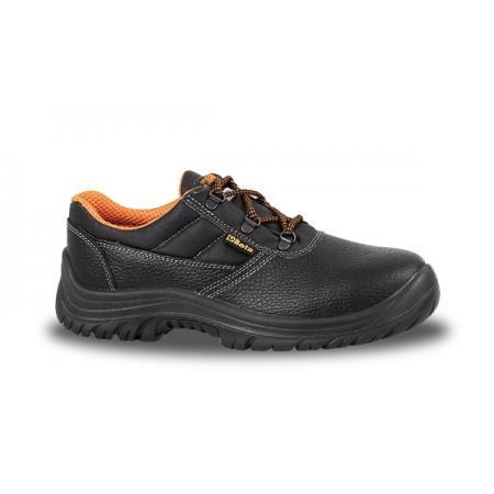 obuv z lícované kůže, voděodolné  s podrážkou proti propichu