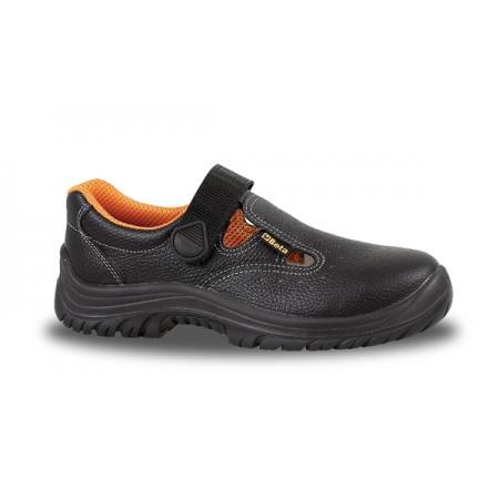 kožený sandál, perforovaný