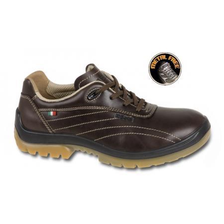 """bota z přírodní kůže, styl """"free time"""", vodotěsná, bez špičky a stélky odolné proti penetraci"""