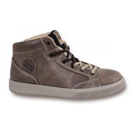 """kotníková bota vyrobená z kůže """"VINTAGE"""", mazaná, vodotěsná"""