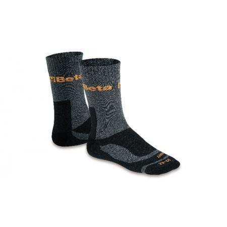 kotníkové ponožky vyrobené z froté a polyamidu