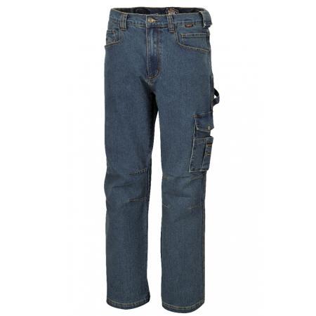 pracovní kalhoty ze strečové džínoviny