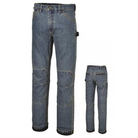 pracovní džíny z elastické džínoviny Slim fit