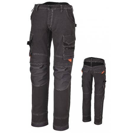 pracovní kalhoty, s vícero kapsami