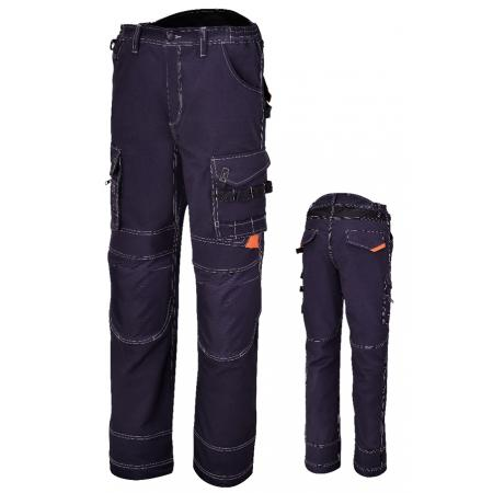 pracovní kalhoty, s více kapsami