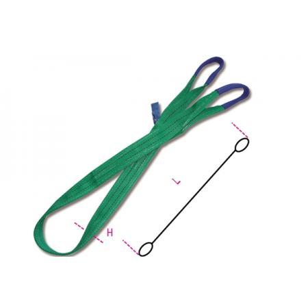 tkané smyčky, zelené 2 t pás z vysoce pevného polyesteru (PES)