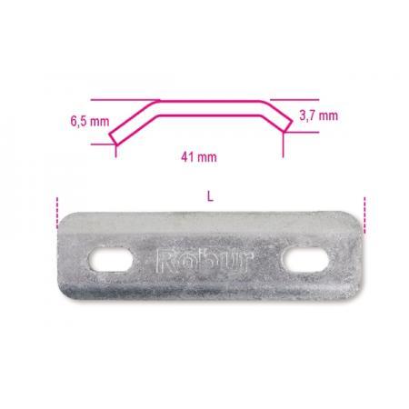 desky pro šrouby tvaru U s čtyřhrannou hlavou žárově pozinkováno