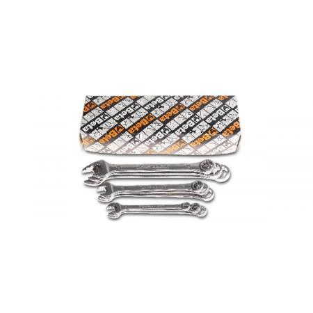 sada 9 kombinovaných klíčů vyrobeny z nerezové oceli