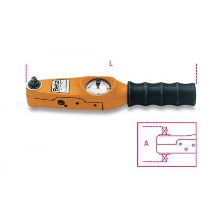 momentové klíče s přímým odečtem pro pravotočivé a levotočivé utahování přesnost momentu: ±4 %