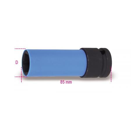 nástrčkové klíče na matice kol, s barevnými polymerovými vložkami