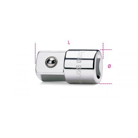 """adaptér, adaptéry s 1/2"""" vnitřním  a 3/4"""" vnějším závitem"""