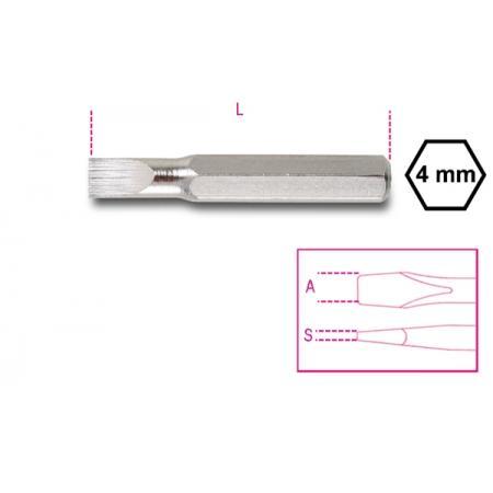 bity 4 mm  na šrouby s drážkovanou hlavou