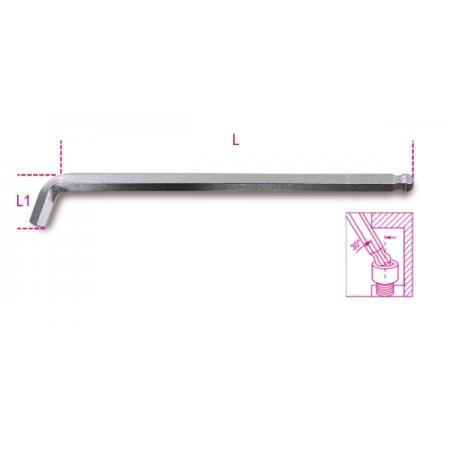 lomené šestihranné? klíče s kulovou hlavou, 110°, velmi krátký stranový model