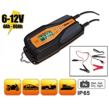 elektronická nabíječka automobilových a motocyklových baterií, 6 - 12 V