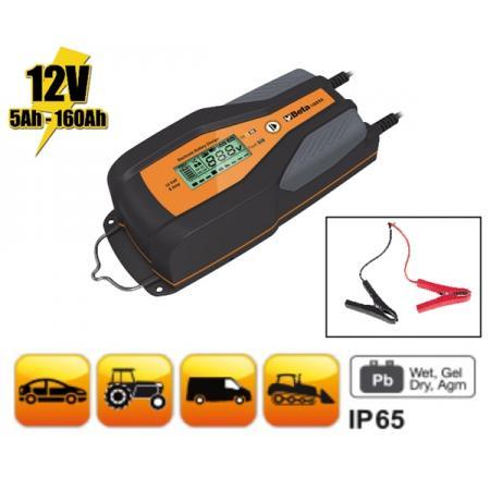 elektronická nabíječka baterií osobních a užitkových vozidel, 12 V