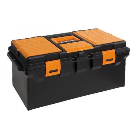 box na nástroje, dlouhá řada, plastový, vyjmutelné přenosné a nástrojové tácy