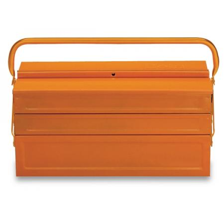 pětidílná konzolová krabice na nářadí,  vyrobeno z kovového plechu