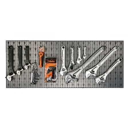 souprava 107 nástrojů  s háky bez panelu